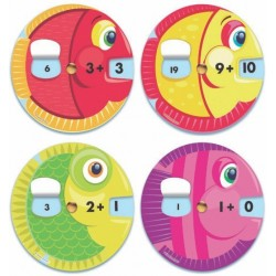 Disco Matemático De Sumas