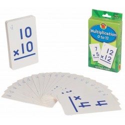 Flash Card Multiplicación 0-12