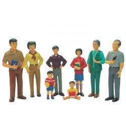 Set De Familia Asiática