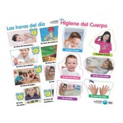 Láminas Higiene Del Cuerpo,...