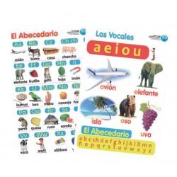 Láminas Alfabeto Y Vocales