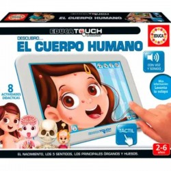 BASE EDUCA TOUCH CUERPO HUMANO