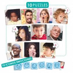 SET DE 10 PUZZLES CON...